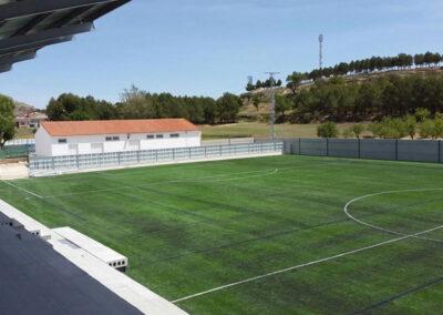 Campo de fútbol de césped artificial de Higueruela