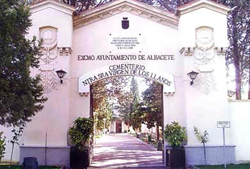 Ampliación de nichos en el Cementerio Municipal Virgen de los Llanos de Albacete.