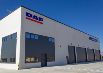 Concesionario DAF AUTORREGE.