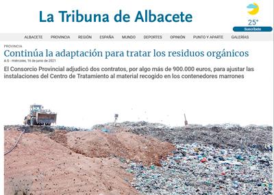 noticia la tribuna tratamiento de biorresiduos albacete
