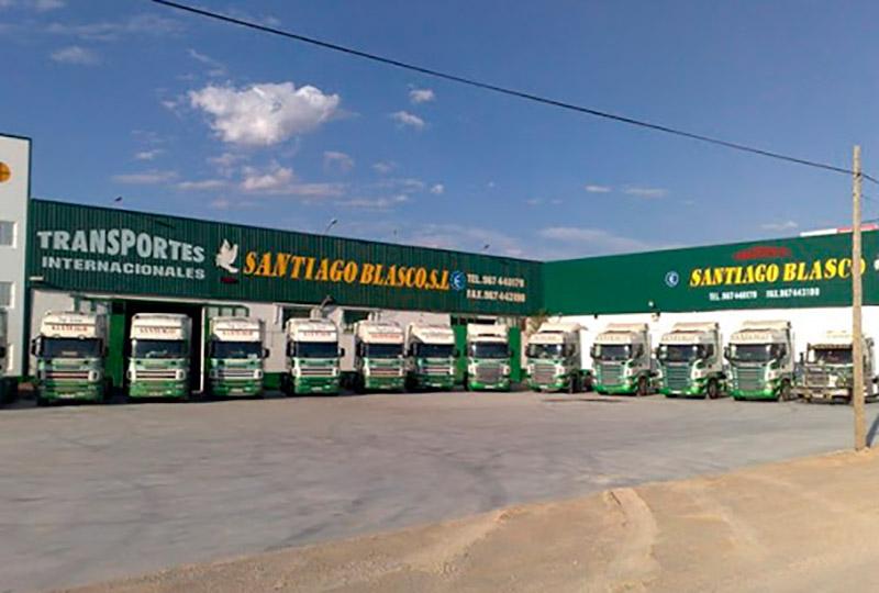 Ampliación de las instalaciones de Transportes Santiago Blasco
